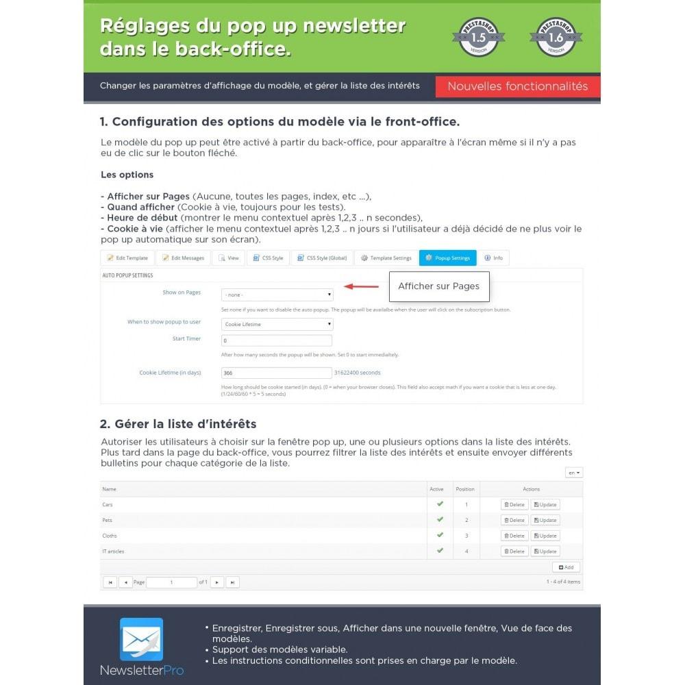 module - Newsletter & SMS - Newsletter Pro - 26