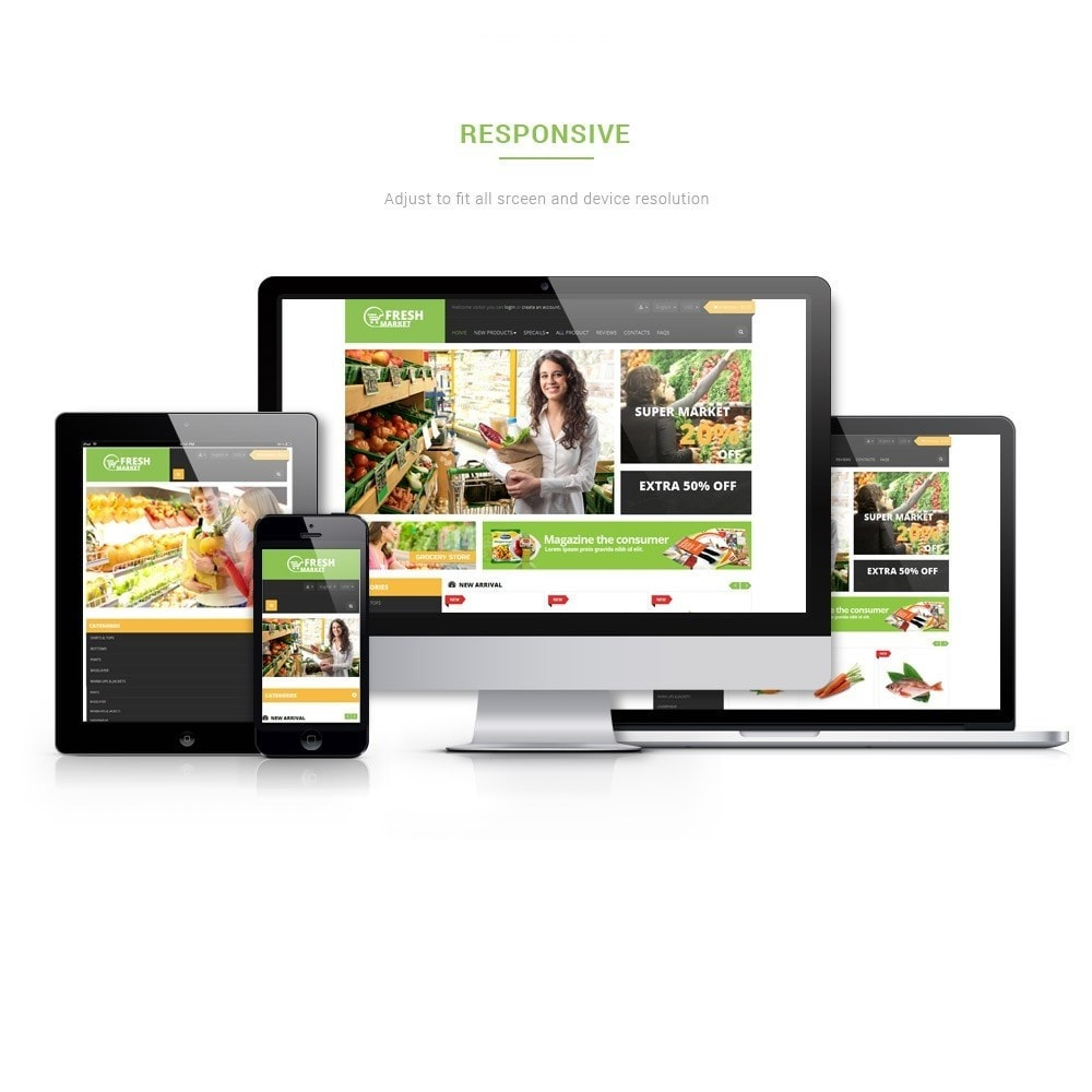 theme - Продовольствие и рестораны - Leo Fresh Store - Food, Vegetables, Fresh market - 1