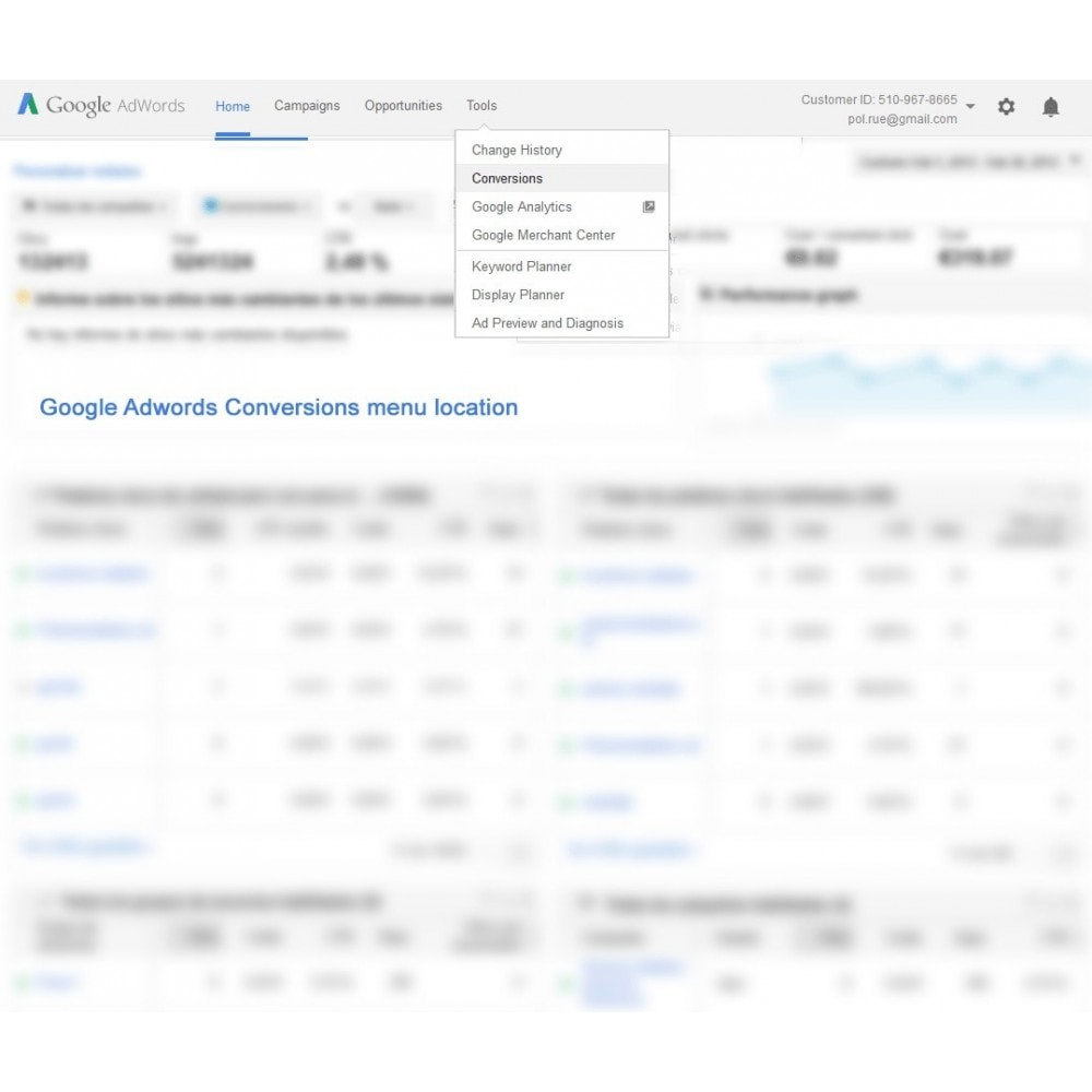 module - Remarketing & Paniers Abandonnés - Google Adwords Conversion Tracking - Smart Modules - 2