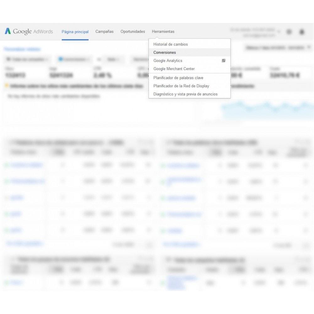 module - Remarketing y Carritos abandonados - Módulo Conversiones para Google Adwords - Smart Modules - 2