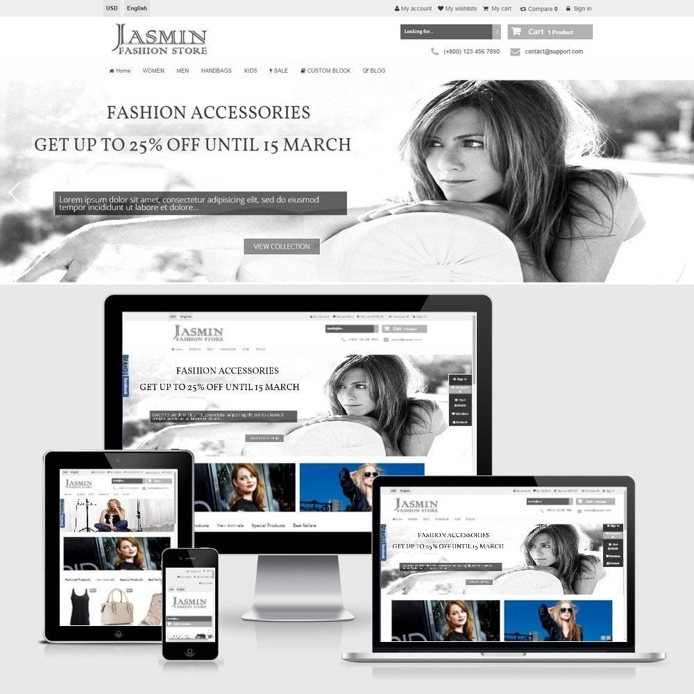 theme - Mode & Chaussures - Jasmin Responsive 1.6 - 2
