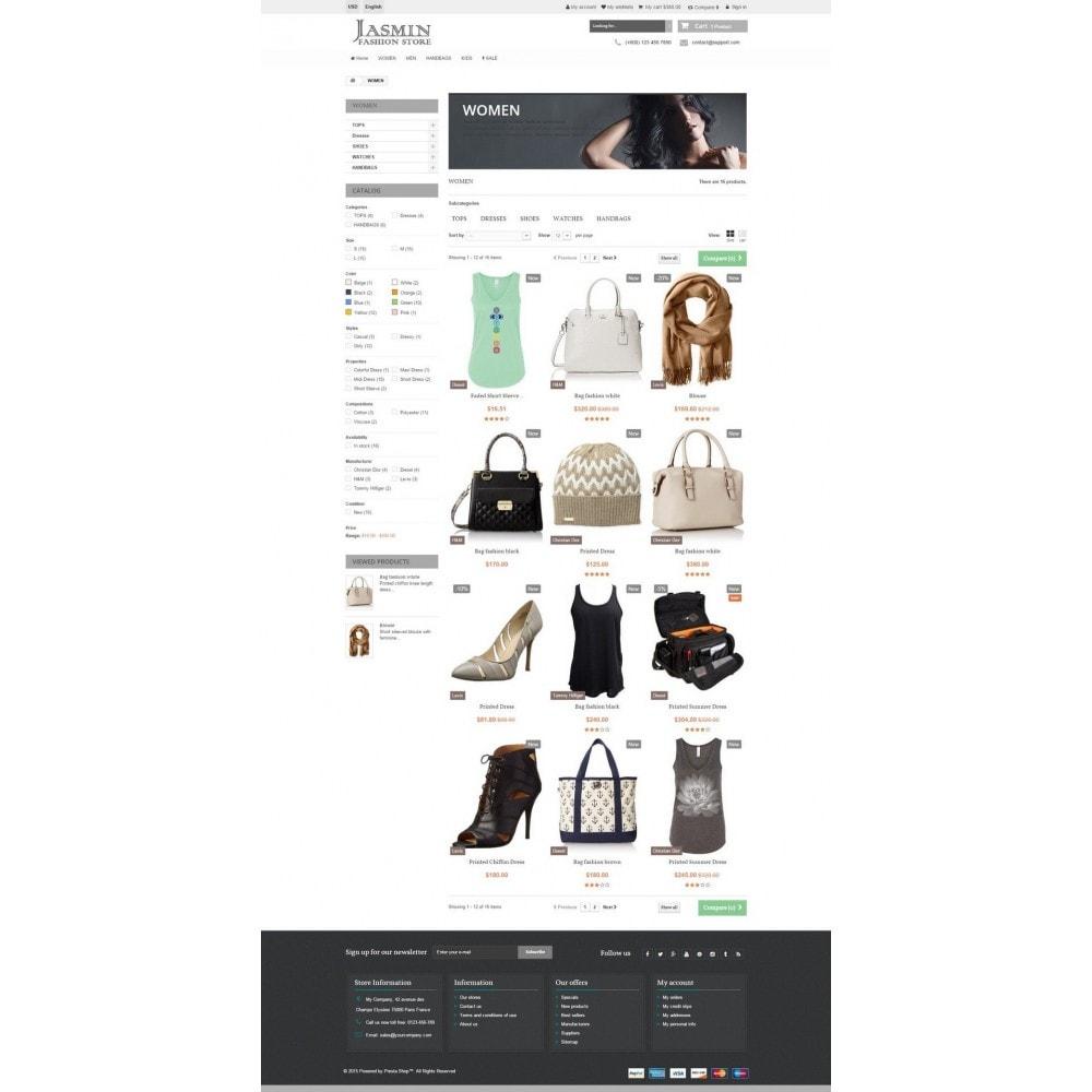 theme - Mode & Chaussures - Jasmin Responsive 1.6 - 6