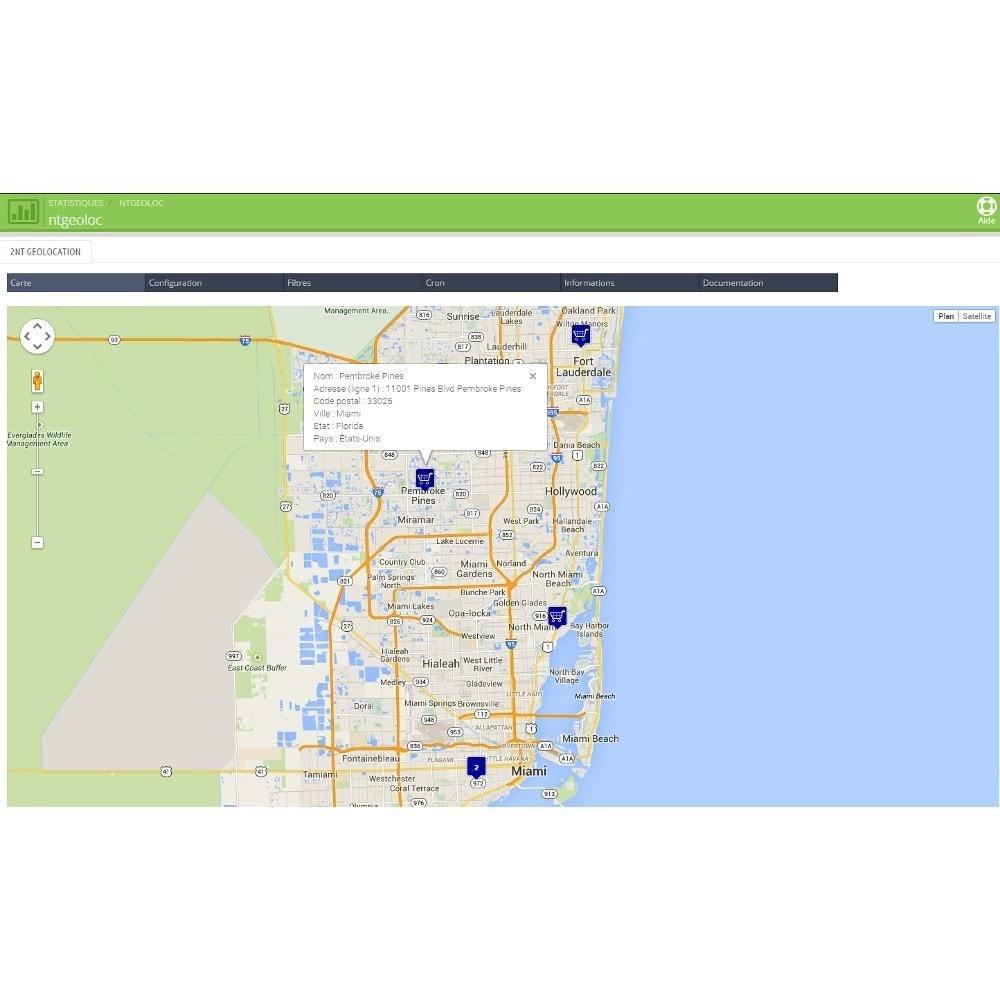 module - International & Localisation - NT Geoloc, géolocalisez précisément vos clients - 2