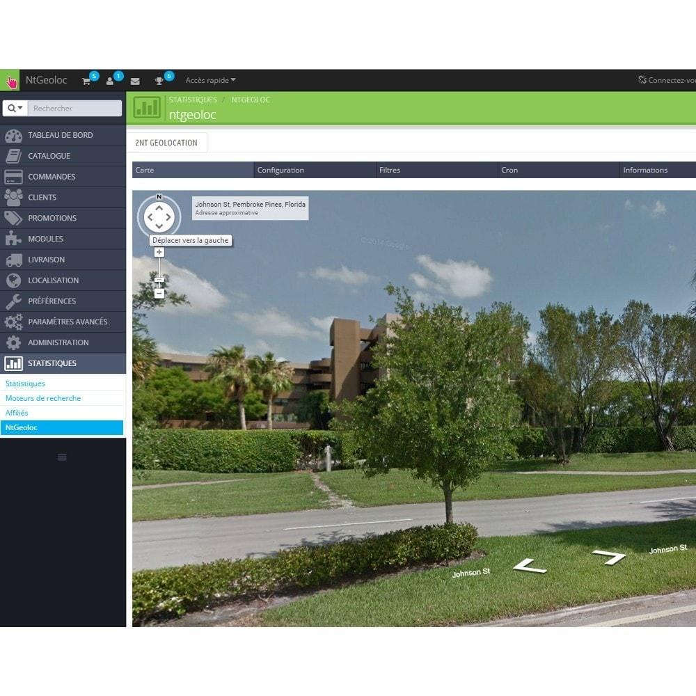 module - International & Localisation - NT Geoloc, géolocalisez précisément vos clients - 8