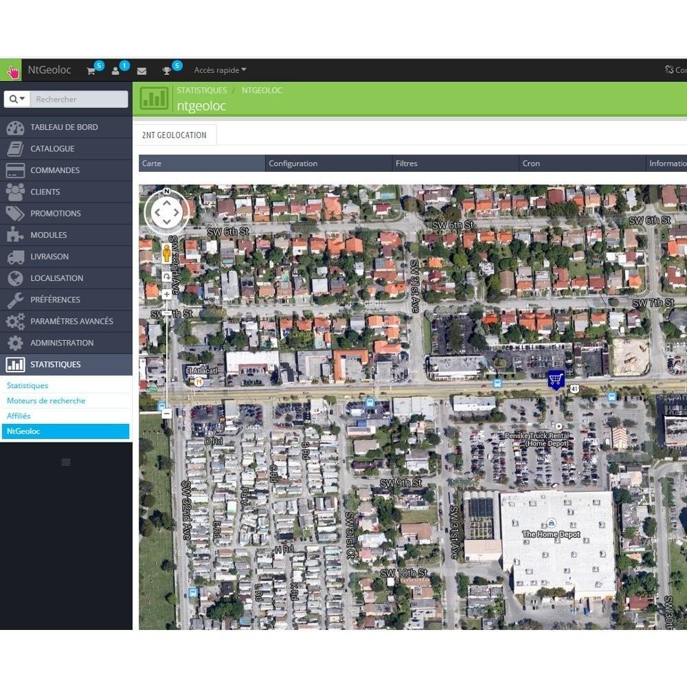 module - International & Localisation - NT Geoloc, géolocalisez précisément vos clients - 9