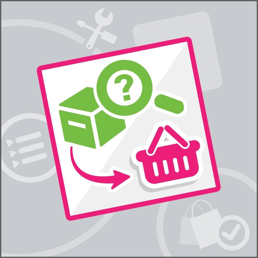 module - Gerenciamento de pedidos - Order recovery - 1
