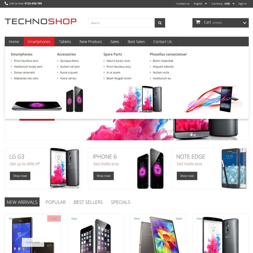 theme - Elektronika & High Tech - TechnoShop - 5