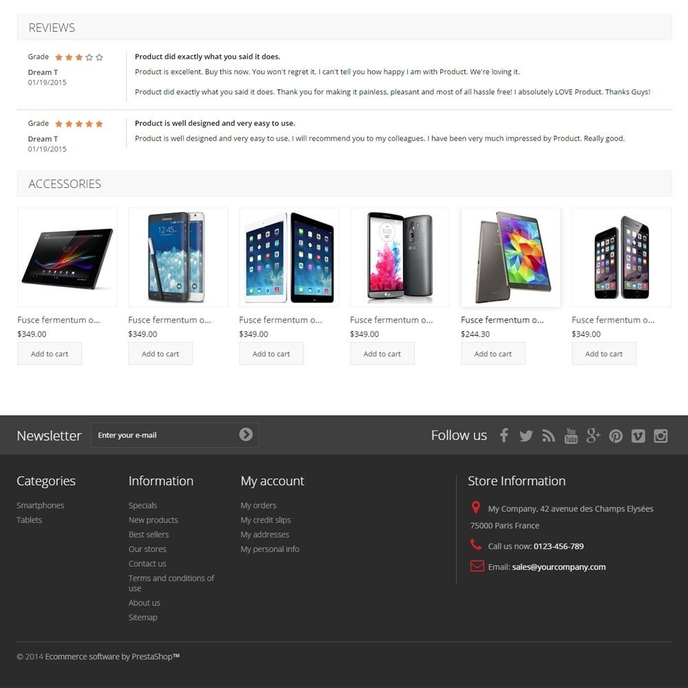 theme - Elektronika & High Tech - TechnoShop - 9