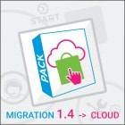 Pack Migration PrestaShop 1.4 to PrestaShop Cloud