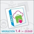 Pack Migration PrestaShop 1.4 to PrestaShop Cloud