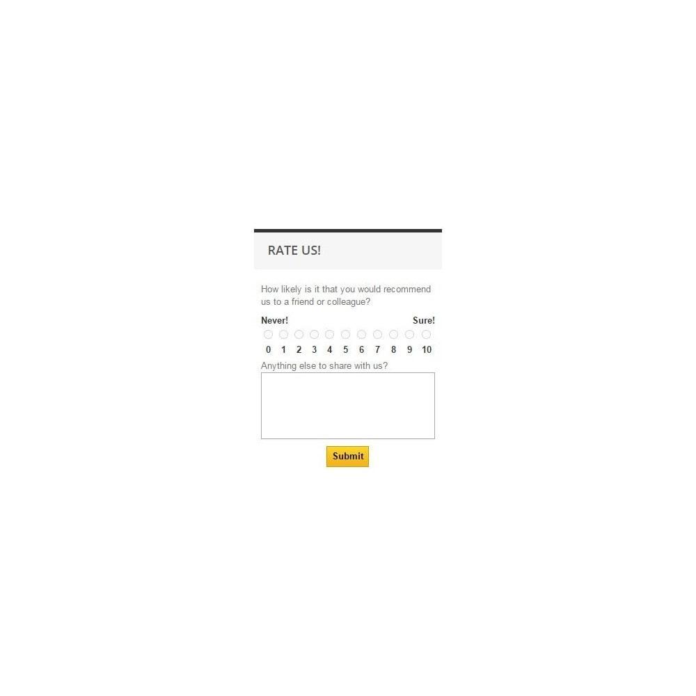 module - Kontaktformular & Umfragen - Promoter Shopper - 5