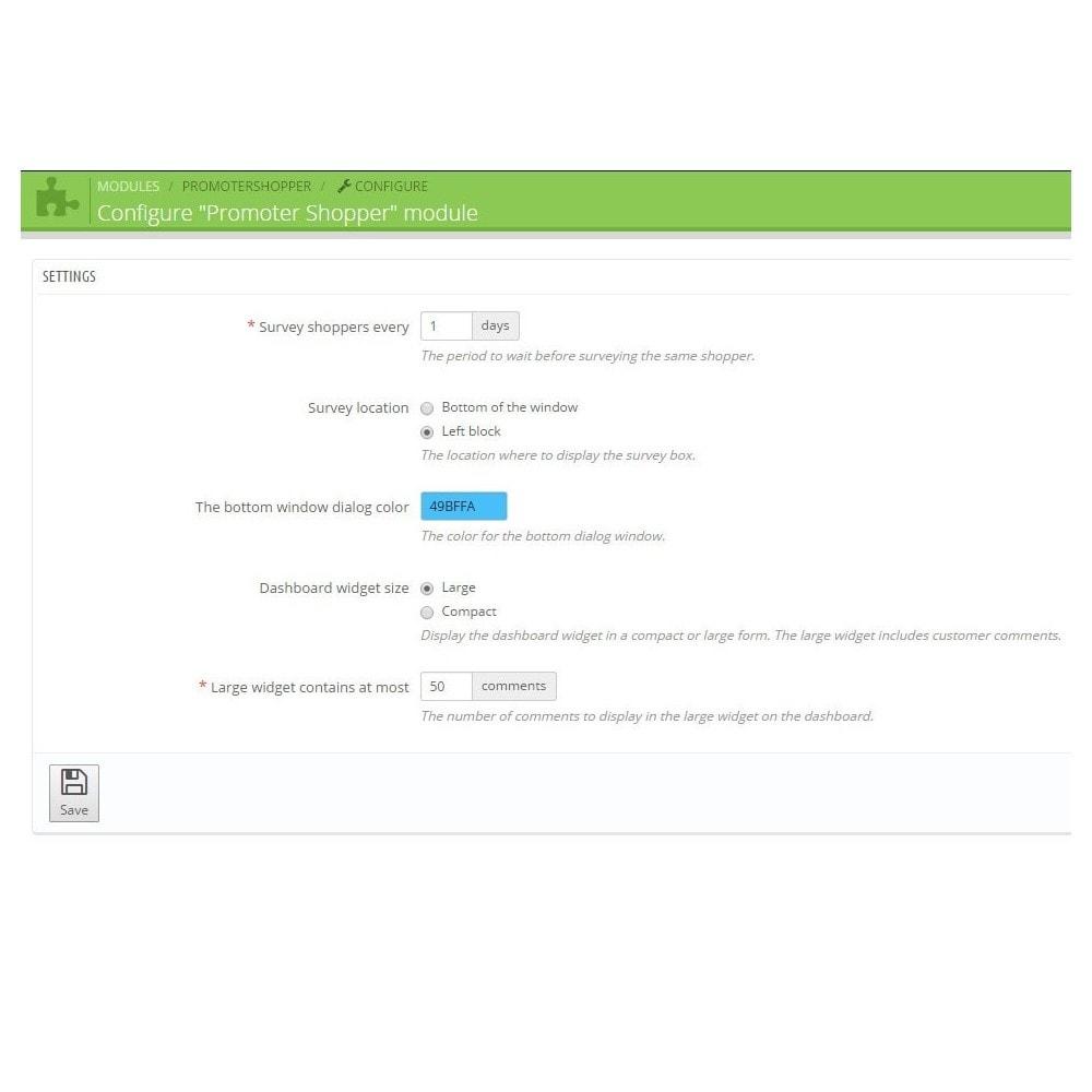 module - Форма обратной связи и Опросы - Promoter Shopper - 6