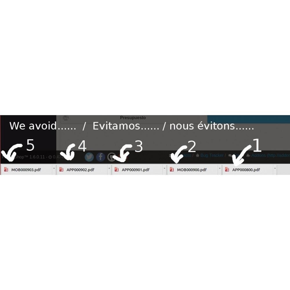 module - Contabilidad y Facturas - Números de factura diferentes por cada multi tienda - 7