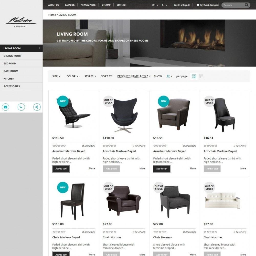 theme - Home & Garden - Interior - Furniture Store - 2