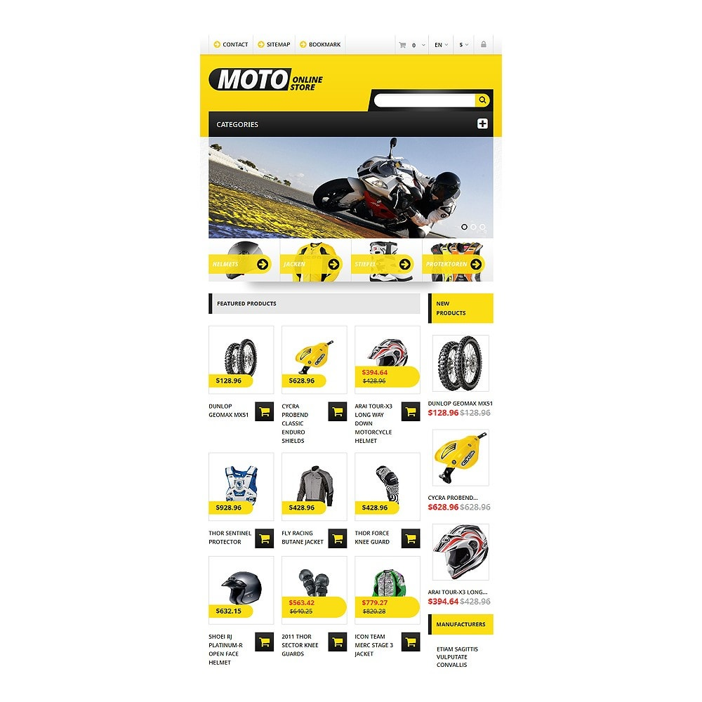 theme - Coches y Motos - Responsive Online Moto Store - 3