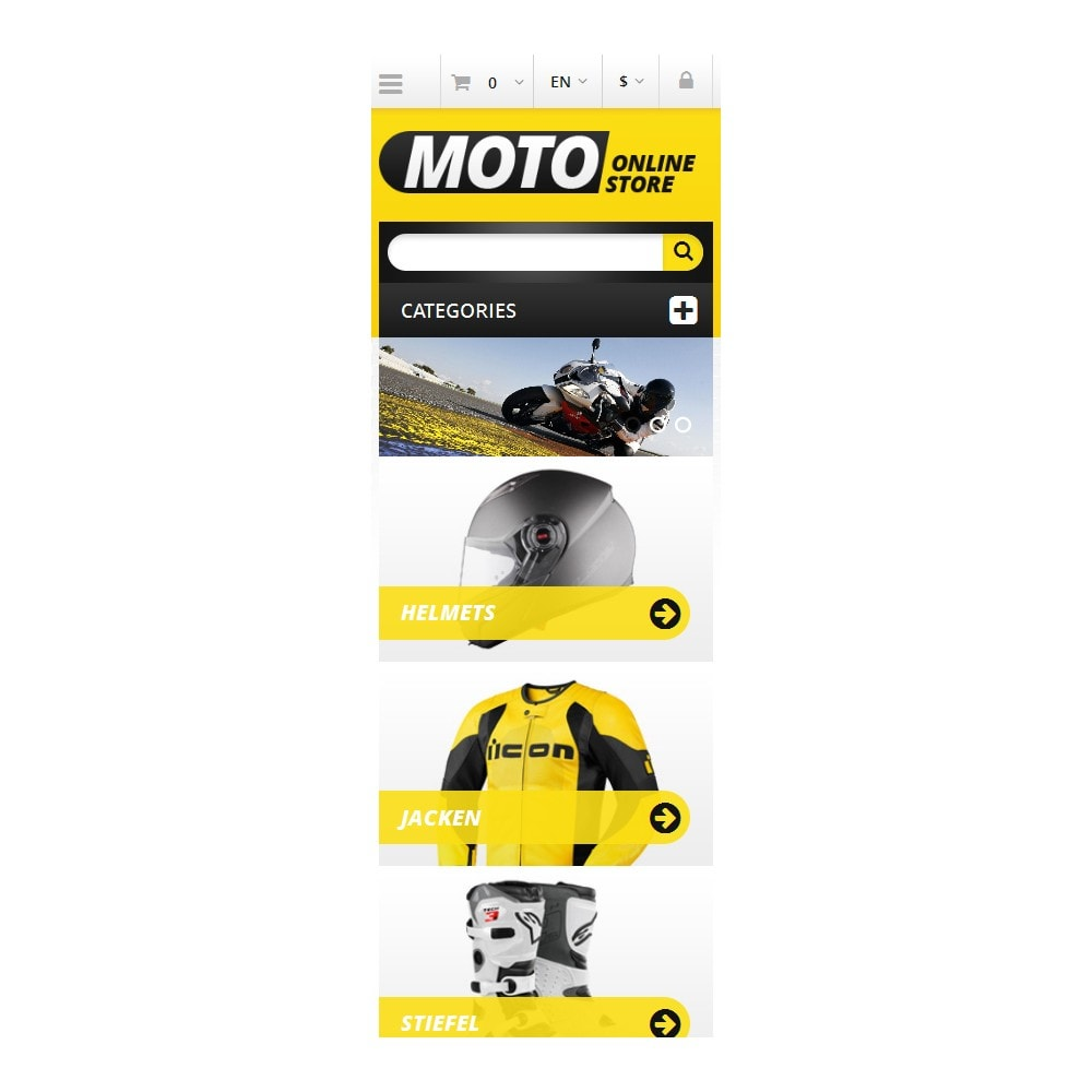 theme - Coches y Motos - Responsive Online Moto Store - 5
