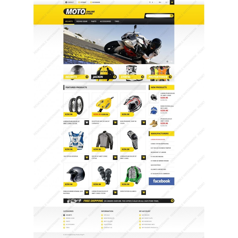 theme - Coches y Motos - Responsive Online Moto Store - 10