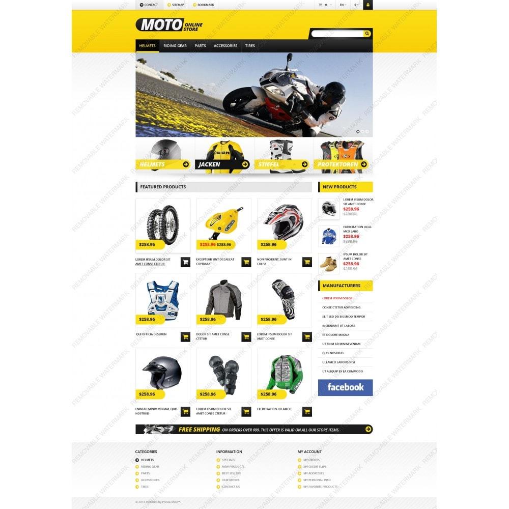theme - Авто и Мото - Responsive Online Moto Store - 10