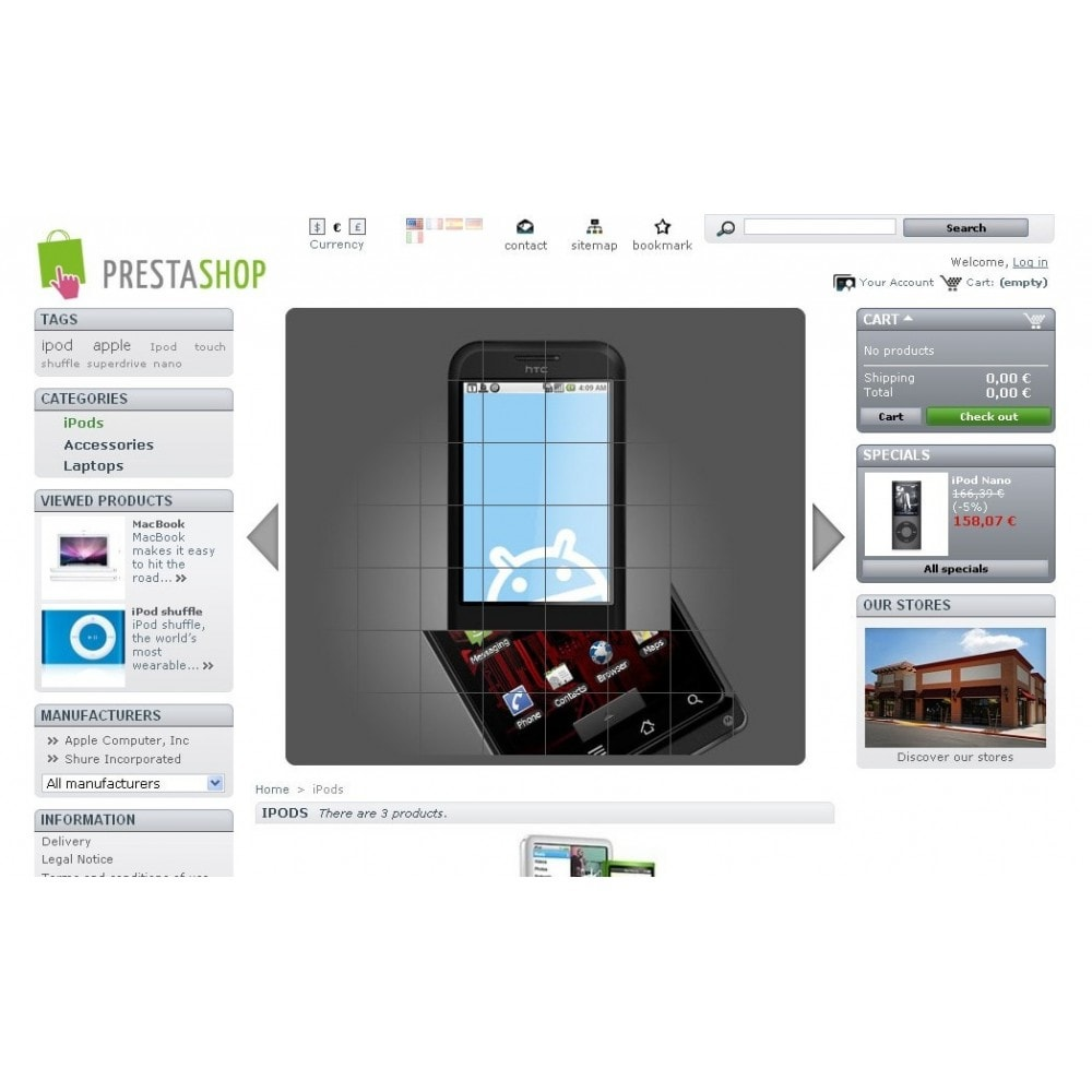 module - Silder & Gallerien - Slideshow 7 in 1 / Mobile / Responsive / Animated - 34