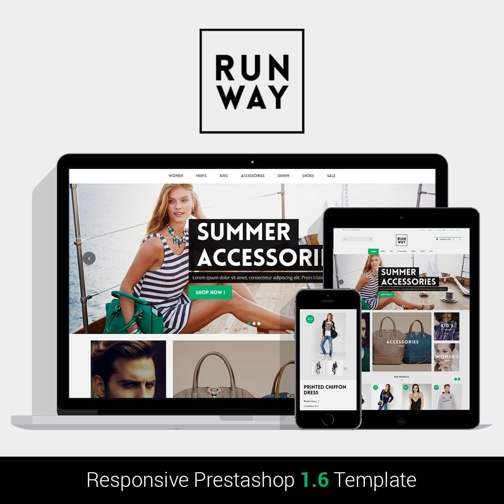 theme - Mode & Schoenen - Runway Fashion Responsive Prestashop 1.6 - 1