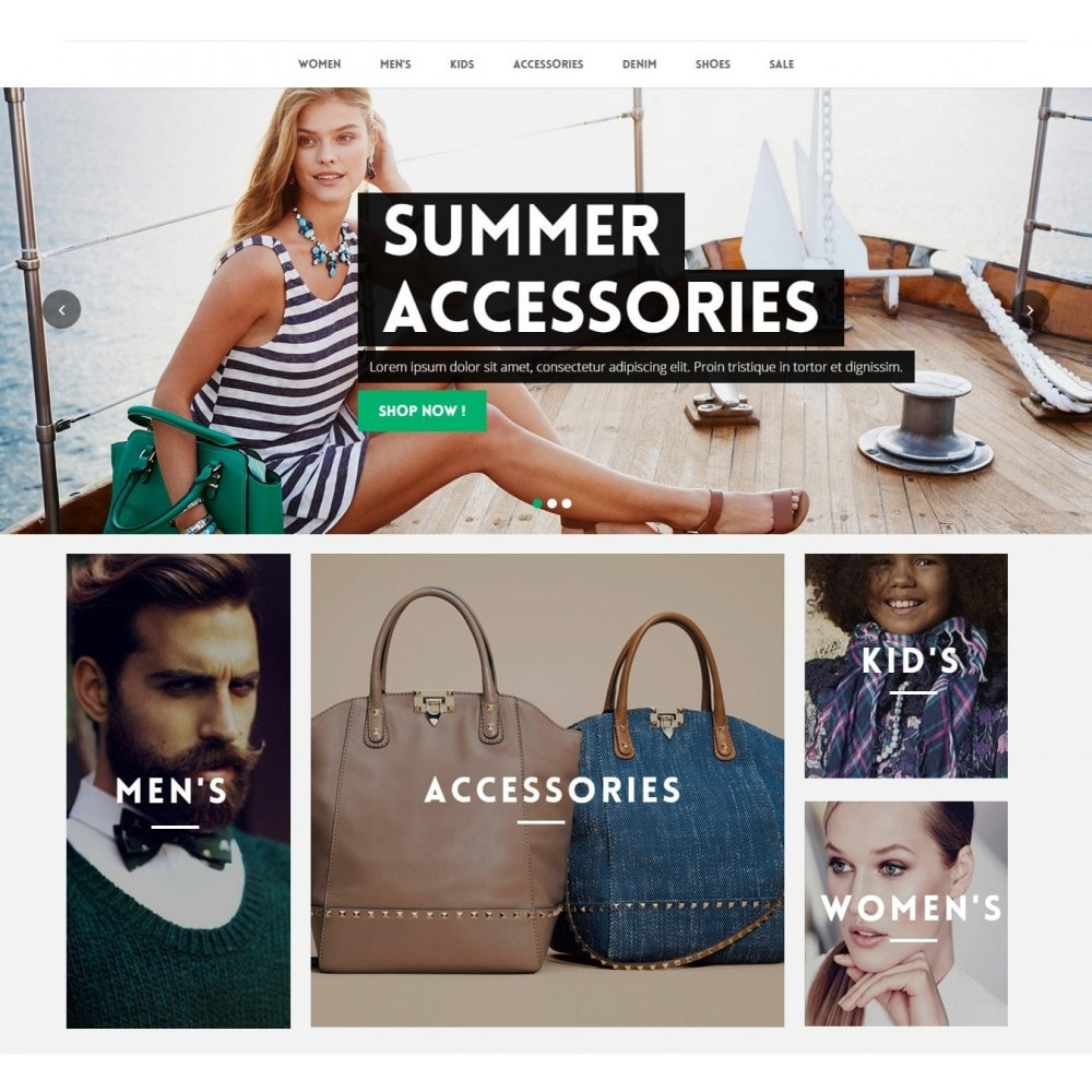 theme - Mode & Chaussures - Runway Fashion Responsive Prestashop 1.6 - 3