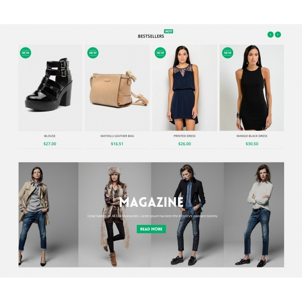 theme - Mode & Chaussures - Runway Fashion Responsive Prestashop 1.6 - 4
