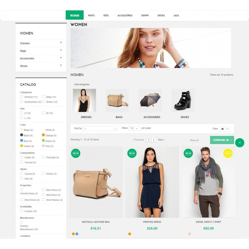 theme - Mode & Schoenen - Runway Fashion Responsive Prestashop 1.6 - 7