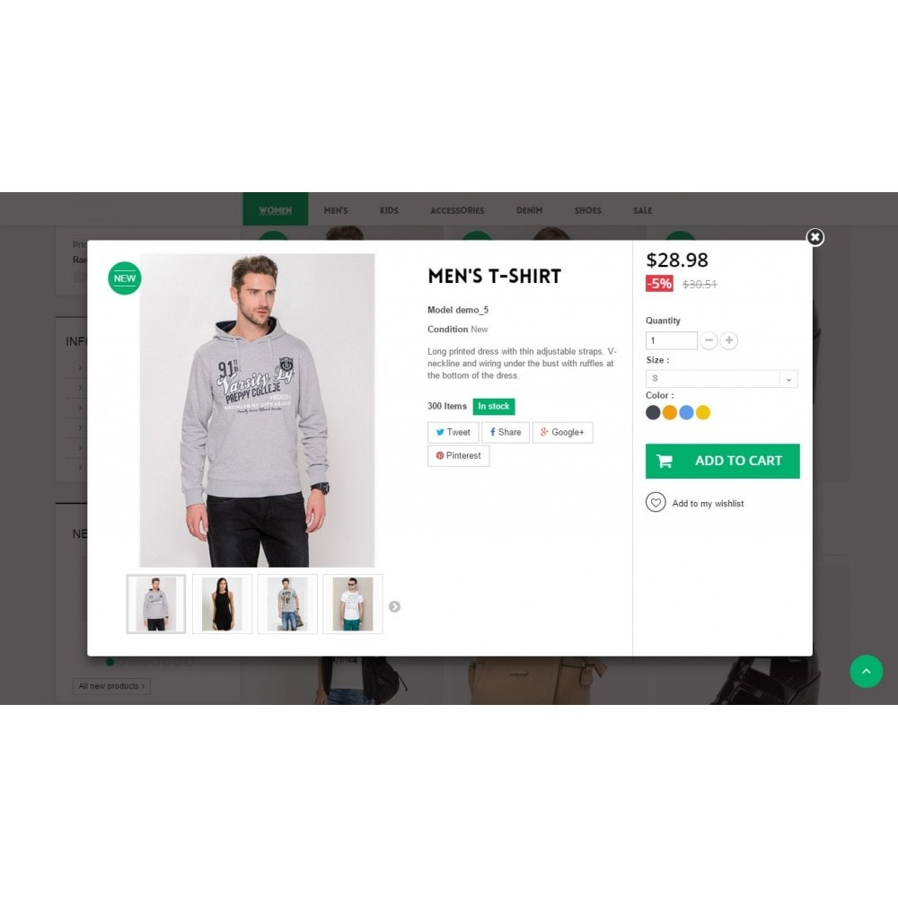 theme - Moda & Calzature - Runway Fashion Responsive Prestashop 1.6 - 8