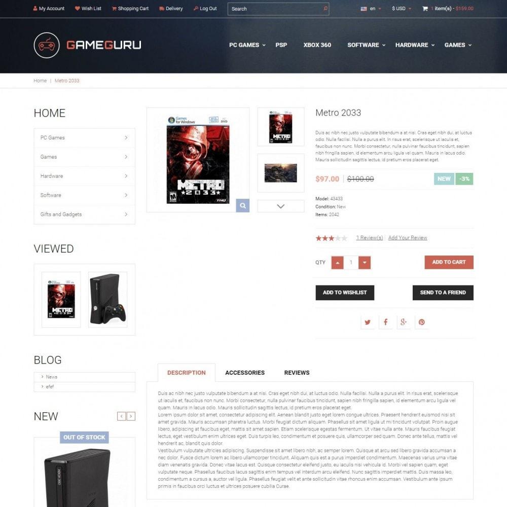 theme - Электроника и компьютеры - Gameguru - Магазин Компьютерных Игр - 3