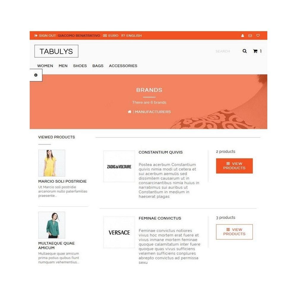 theme - Fashion & Shoes - Tabulys - 8