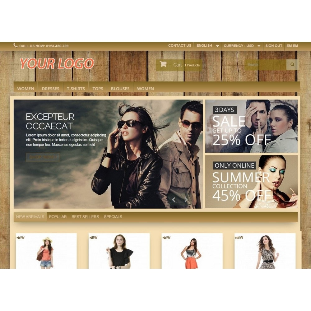 theme - Drank & Tabak - Super Neutral - Prestashop Template - 2
