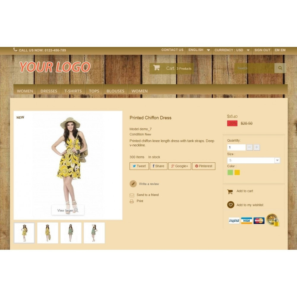 theme - Drank & Tabak - Super Neutral - Prestashop Template - 4