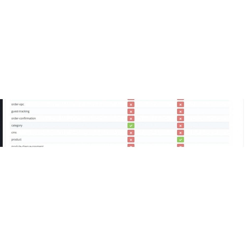 module - Personalização de página - Columns Enable - 3