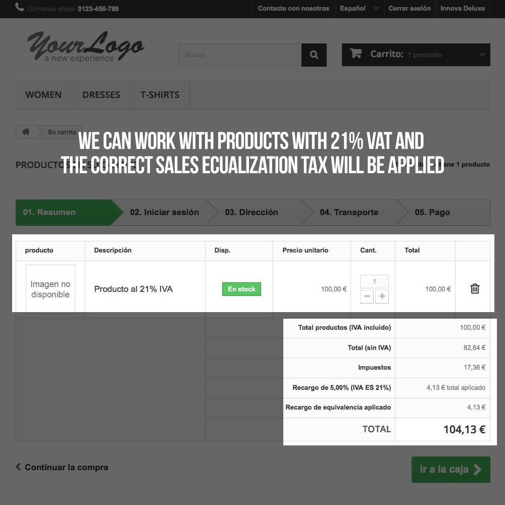 module - B2B - Applying sales equalization tax to orders and invoices - 13