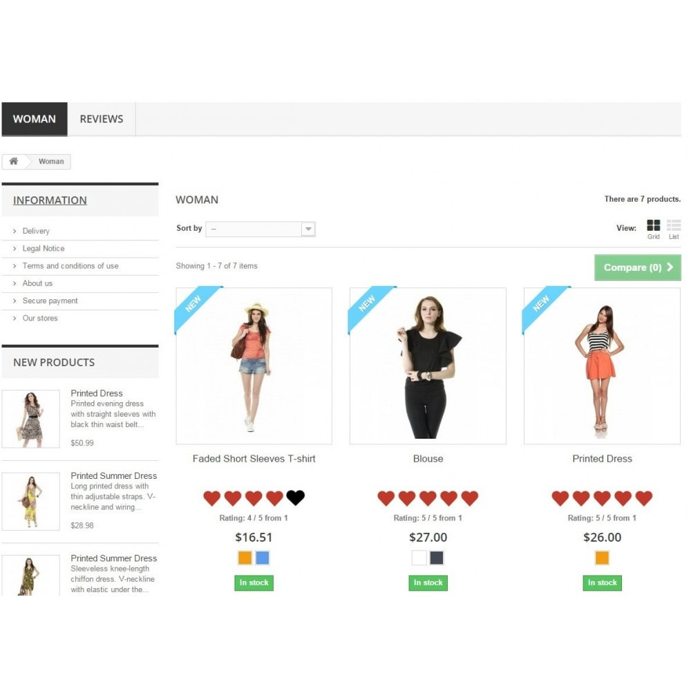 module - Recensioni clienti - Shop - Reviews, Comments, Ratings. Google Rich Snippets - 5