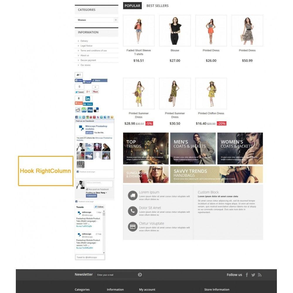 module - Deelknoppen & Commentaren - Social Constructor (Share and Follow) - 7