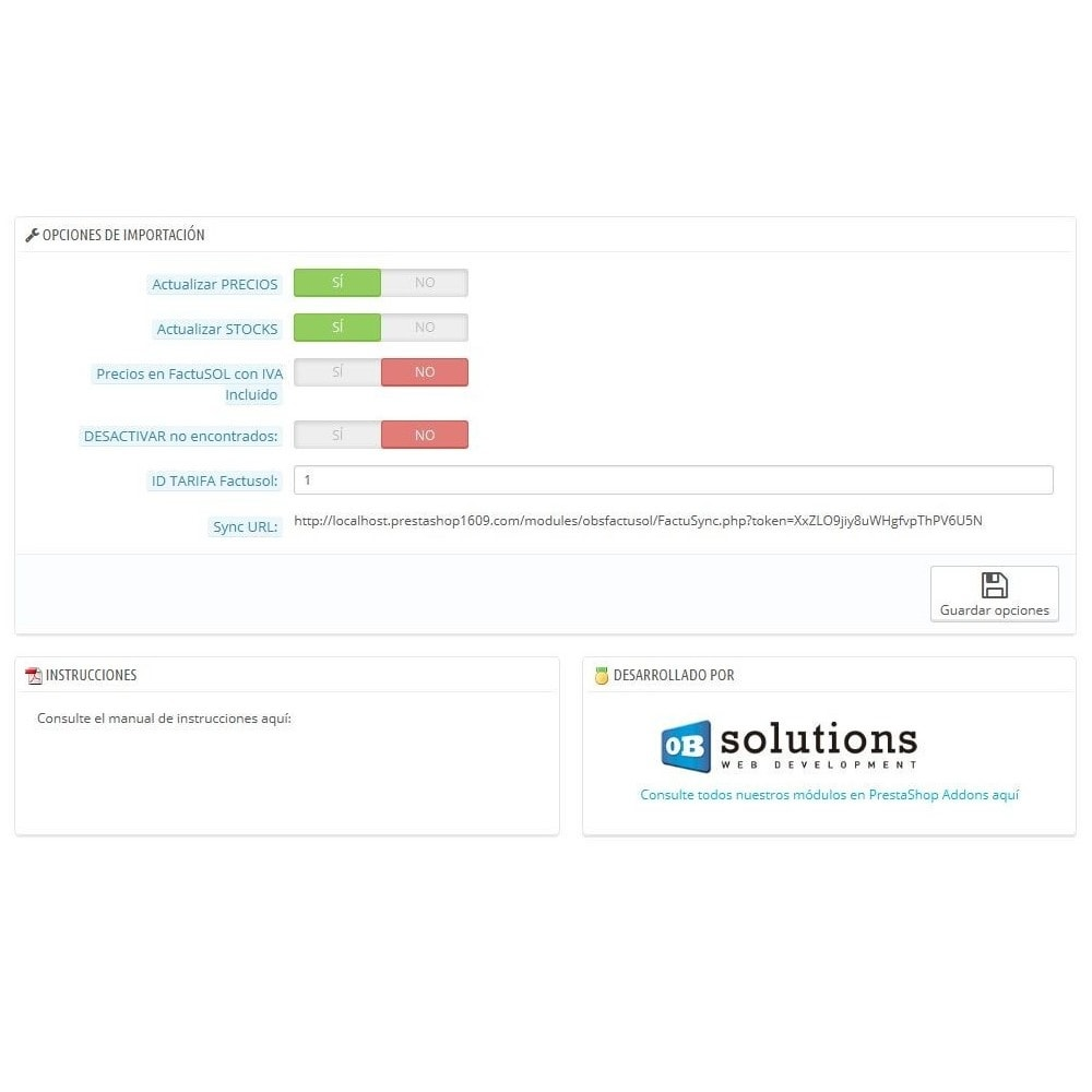 module - Integración con CRM, ERP... - Conector FactuSOL BÁSICO - 4