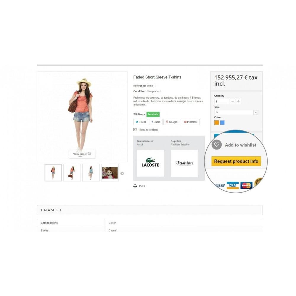 module - Formulario de contacto y Sondeos - Request Product Info - 5