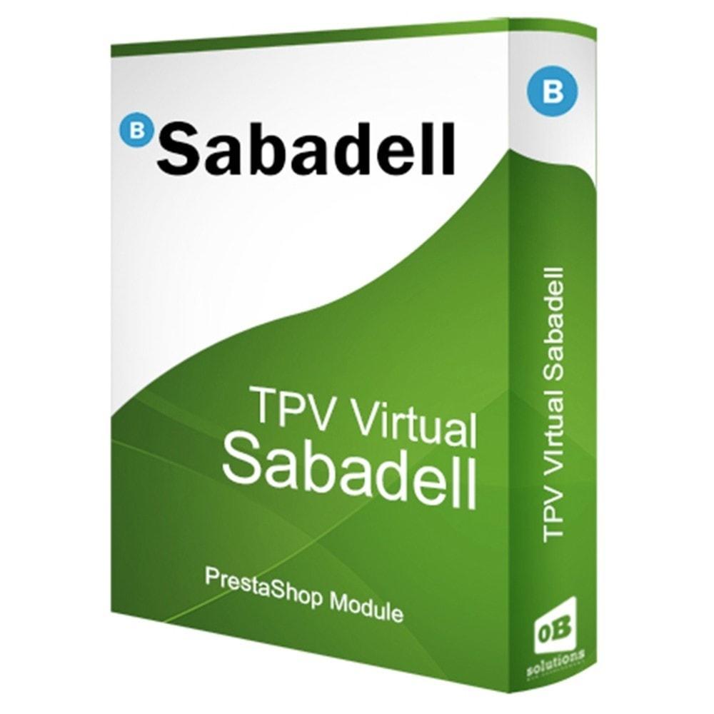 module - Pago con Tarjeta o Carteras digitales - TPV BANCO SABADELL (Devoluciones + Pago móvil) - 1