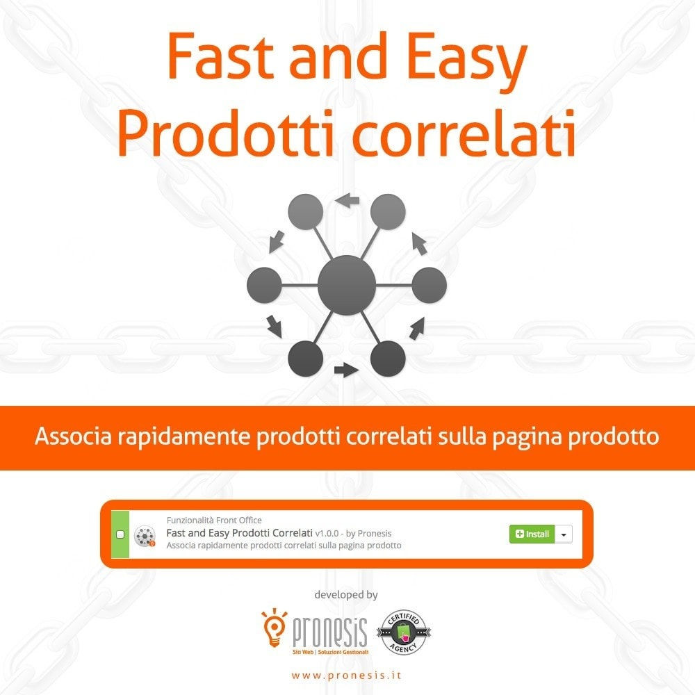 module - Cross-selling & Product Bundle - Fast and Easy Prodotti Correlati - 1