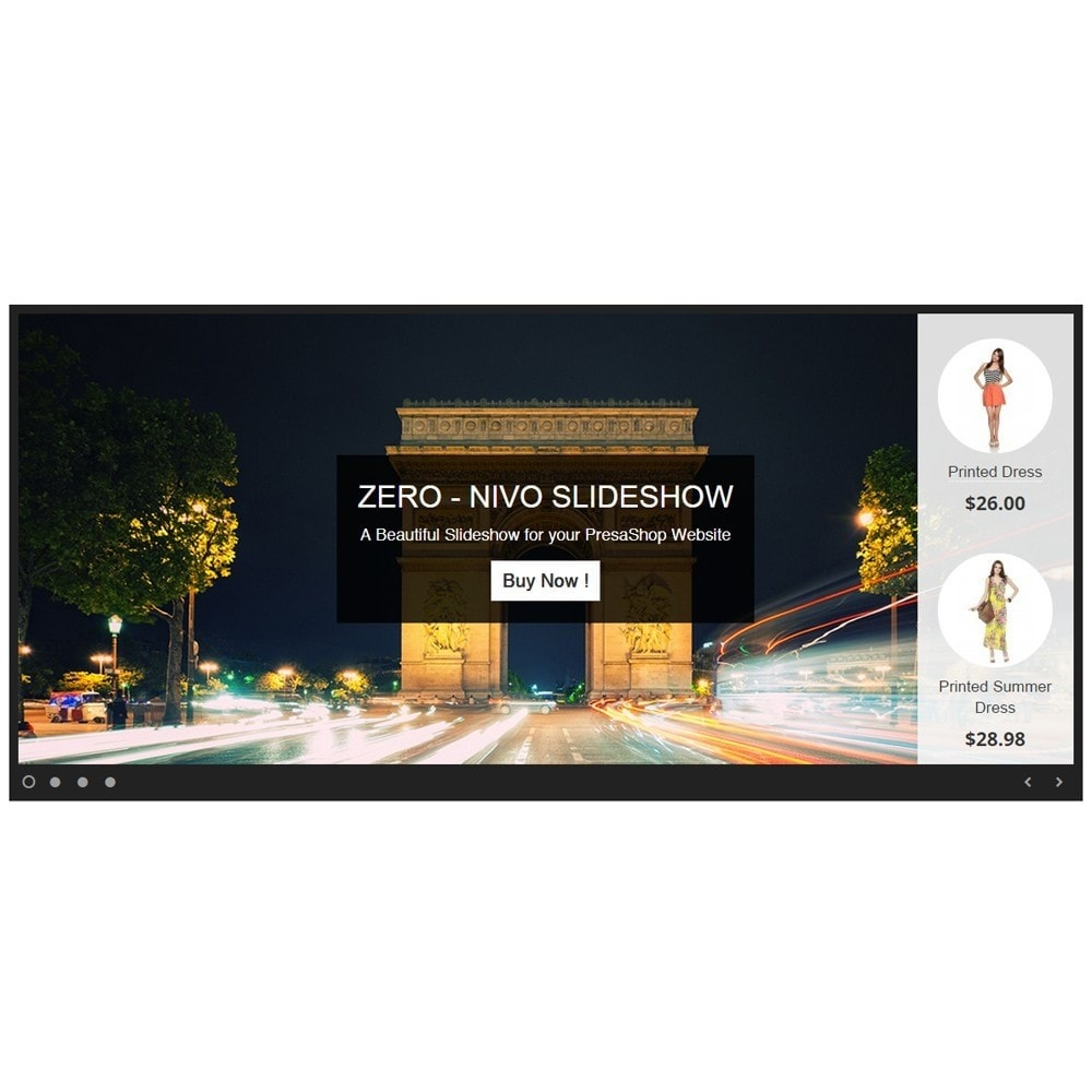 module - Slider & Gallerie - Amazing Slideshow and Products - Zero Nivo Slideshow - 4