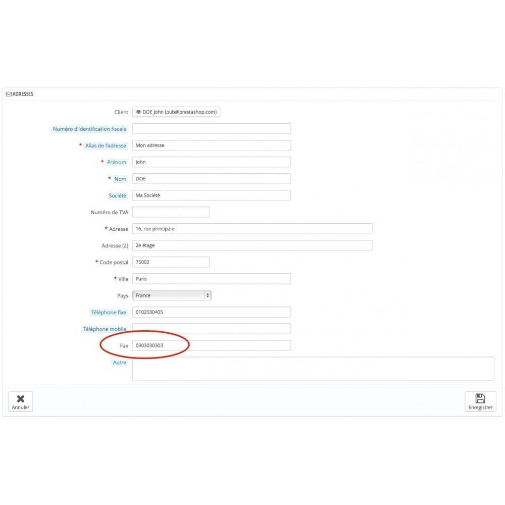 module - E-mails & Notifications - Facture par email et/ou fax - 3