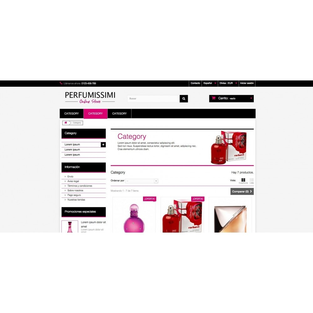 theme - Health & Beauty - Perfumissimi Online Store - 5