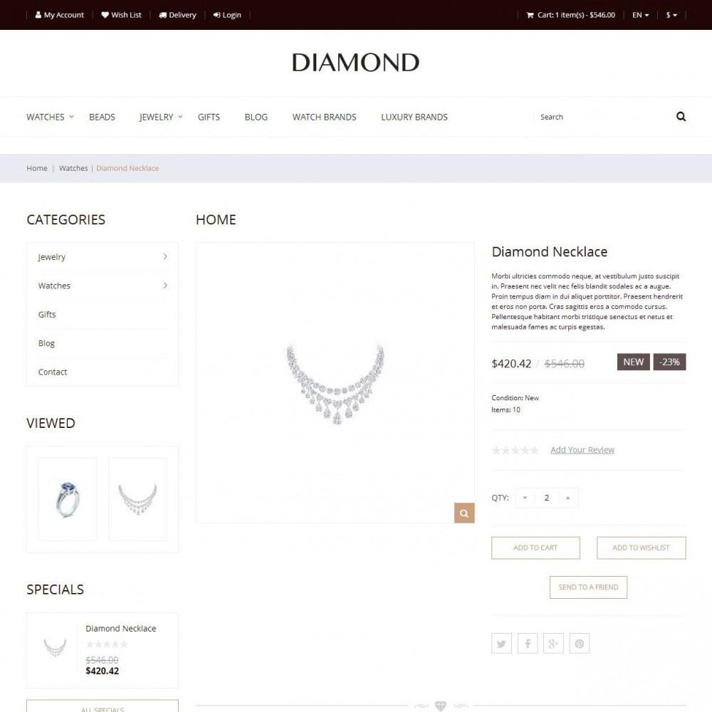 theme - Ювелирные изделия и Аксессуары - Diamond - Ювелирный Магазин - 4
