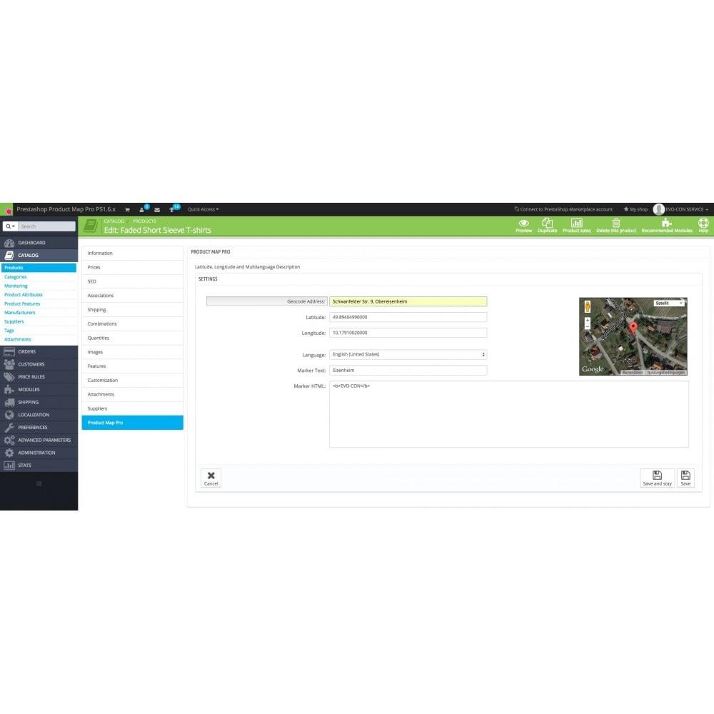 module - Internacional & Localização - Product Map Pro - 5