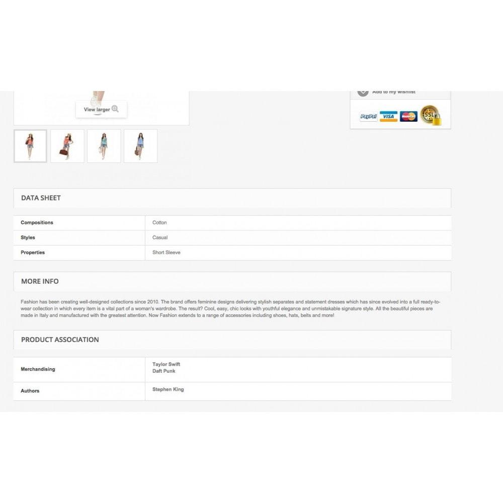 module - Marques & Fabricants - Taxonomie Personnalisée - 10