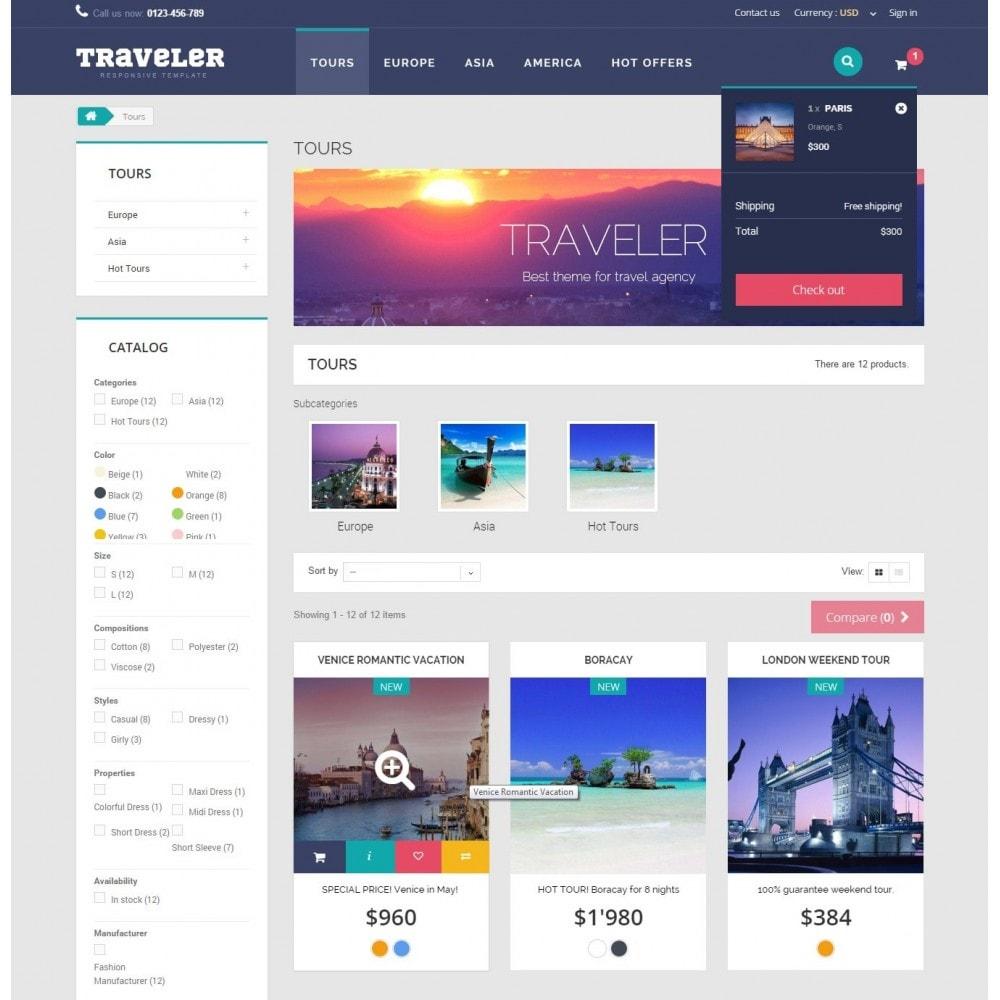 theme - Sports, Activities & Travel - Traveler Prestashop 1.6 Responsive Theme - 7