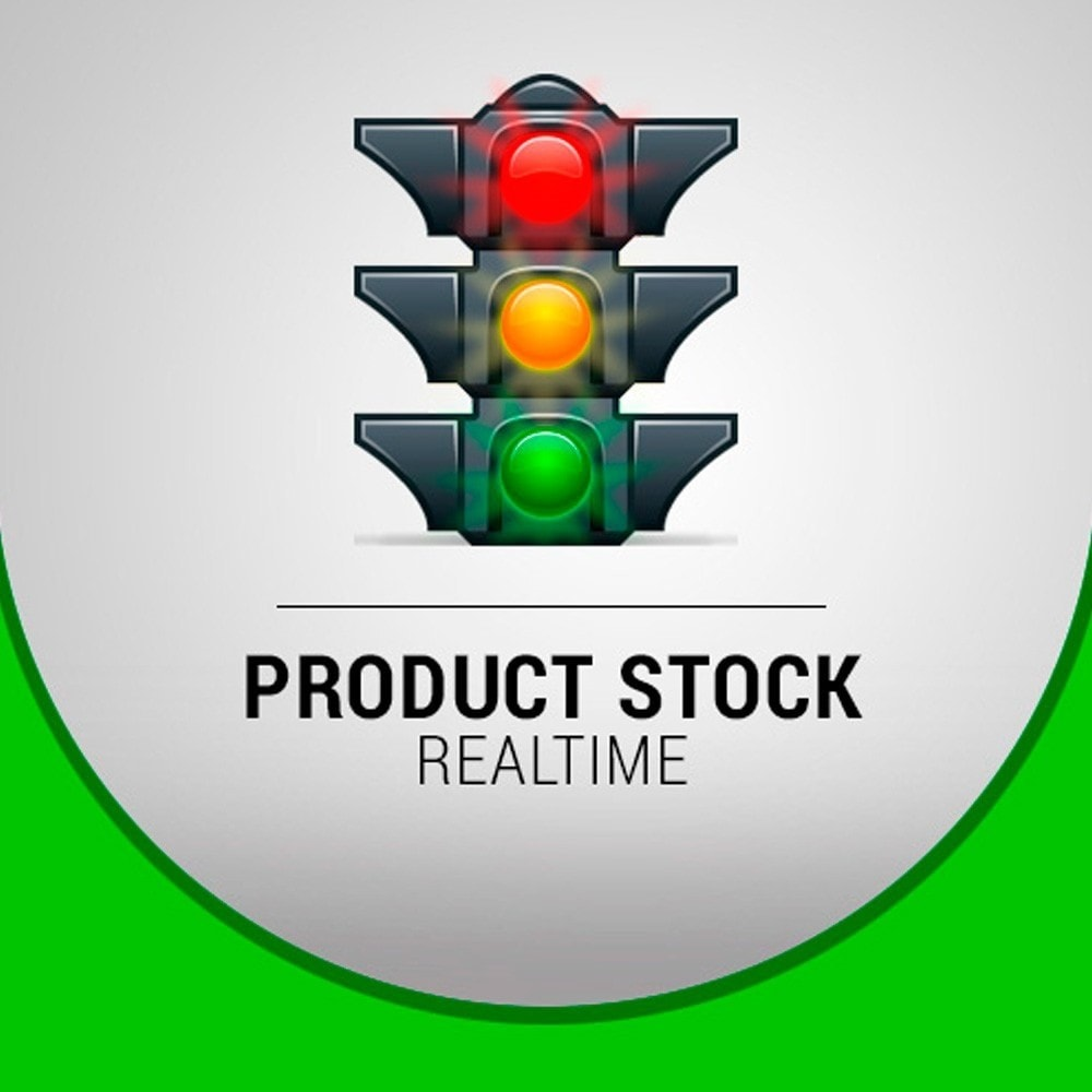 module - Information supplémentaire & Onglet produit - Product Stock Realtime - 1
