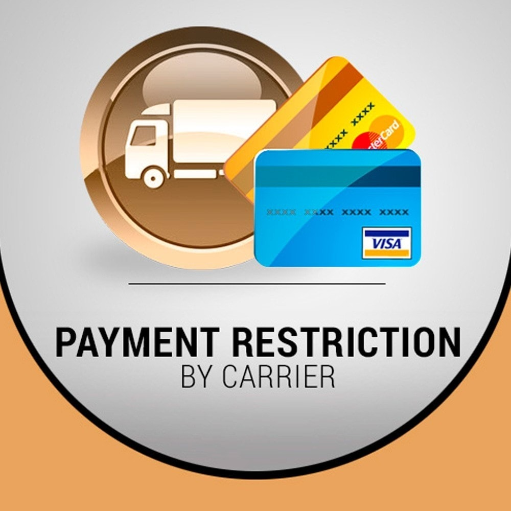 module - Andere Zahlungsmethoden - Restriction payment by carrier - 1