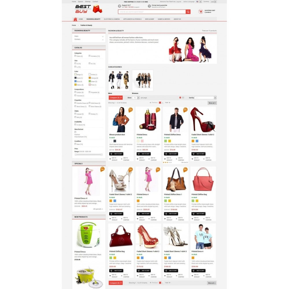 theme - Eletrônicos & High Tech - Responsive Best Buy Prestashop Theme - 4